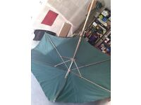 Large patio parasol