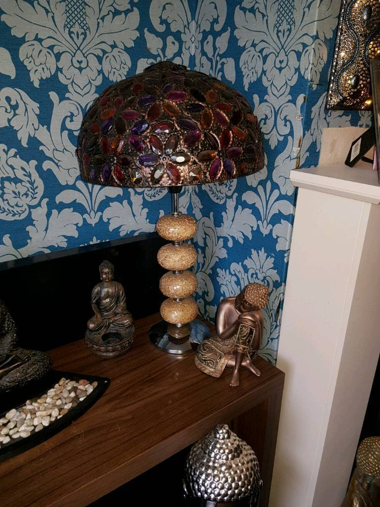 Matching Moroccan Style Table And Floor Lamp