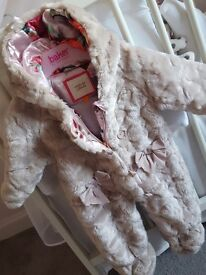 ted baker baby girl's clothes newborn ,0-3 month's and 6-9 month's
