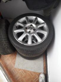 Exclusive 16 inch 4 stud Vauxhall wheels