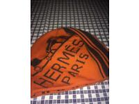 Hermes hat and scarf