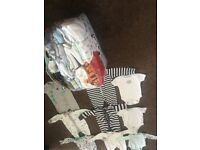 Bundle of Baby boys cloths from tiny baby to up 6 months old