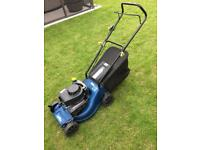 Challenge extreme push petrol lawnmower.