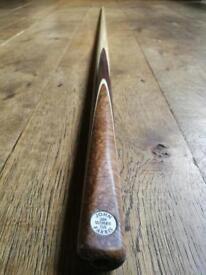 John Parris Ultimate 1-piece Cue - Ash & Rosewood