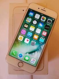 Iphone 6s unlocked rosegold 16gb