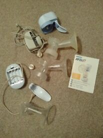 Philips Avent Breast Pump (Electric, Hand or Battery powered)