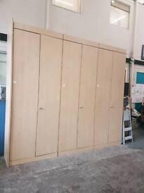 Large modular office storage unit
