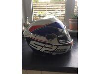 Shark speed racing helmet, size large