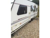 Abbey spectrum 620 twin axle caravan