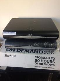 Sky + HD boxes x2