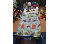 Pj mask toddler bed and matress with sheets