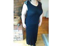 Maternity black evening dress size 14 papaya