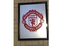 Manchester United Crested Mirror