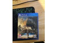 PS4 game assassins creed origins