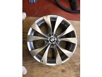GENUINE BMW X5 FRONT 10J M SPORT 20 INCH WHEEL ALLOY ,X6,X3,E53, E70, 227 STYLE E71