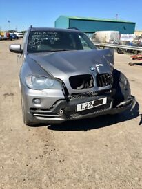 BMW X5 3.0 Diesel 59reg XDRIVE Private Plate not included 126K Damage repairable £3995