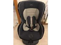 Mamas And Papas Vito Car Seat Group 1 With ISOFIX base Included.