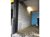 Workshop units to let 2 minutes from Finchley Central Available