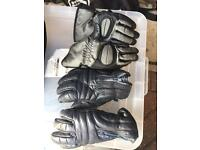 Two Pairs of Small motorbike gloves