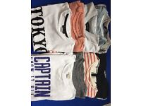 Boys river island tshirt bundle (5-6yrs)