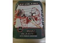 RC bladez quad blaster with missile launcher