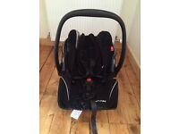 Recaro young profi plus baby car seat, very good condition, occasional use only