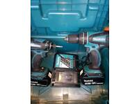 Makita 18v Lithium 2 peice. MINT CONDITION