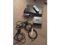 Sky box and WiFi box