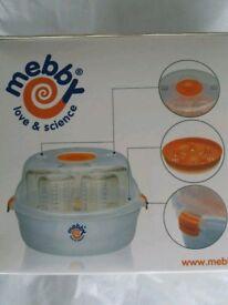 Mebby Love Science Microwave Bottle Steriliser