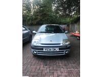 Renault Clio Sport 2001 (silver) 6 Months MoT 3 door 1.2 16v