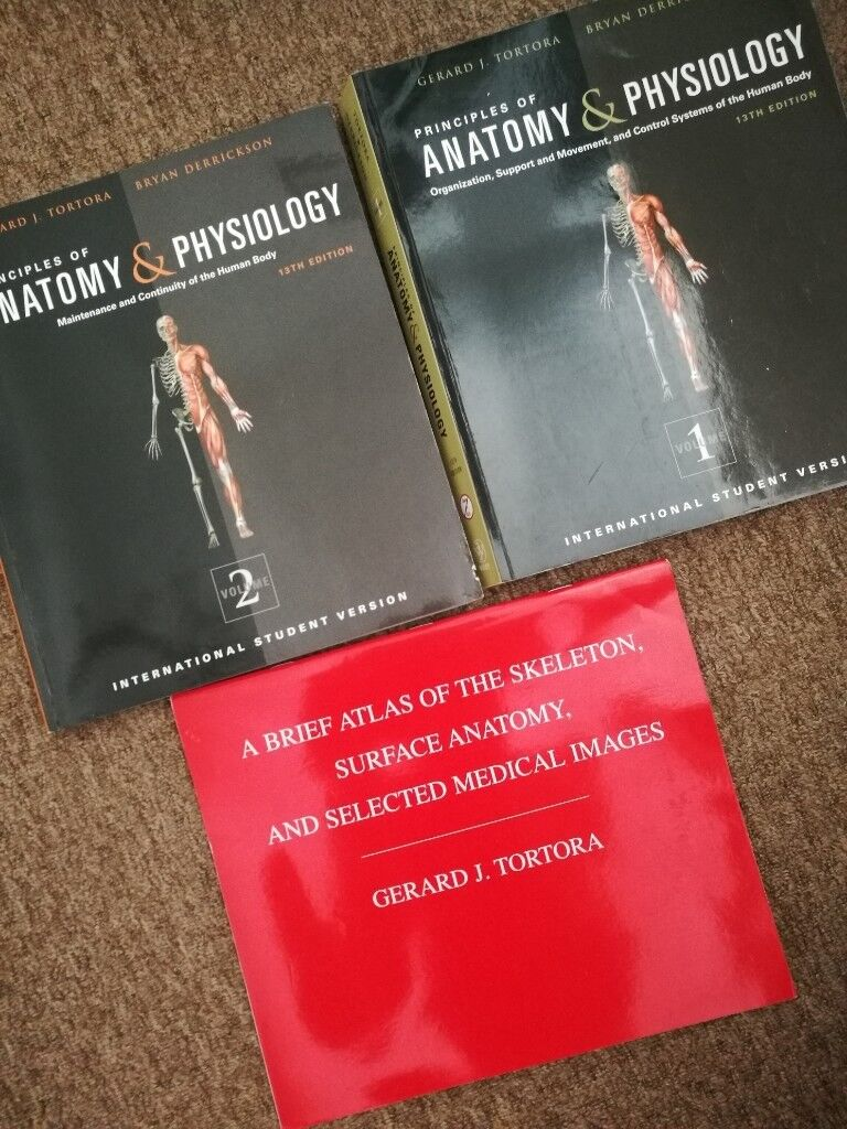 J Tortora Principles of anatomy and physiology 13th edition volume ...
