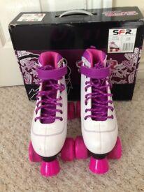 Girls roller skates / boots / quads size 4 EU 37
