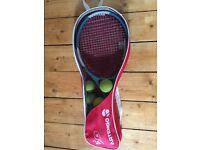 x2 Tennis Rackets, x10 balls