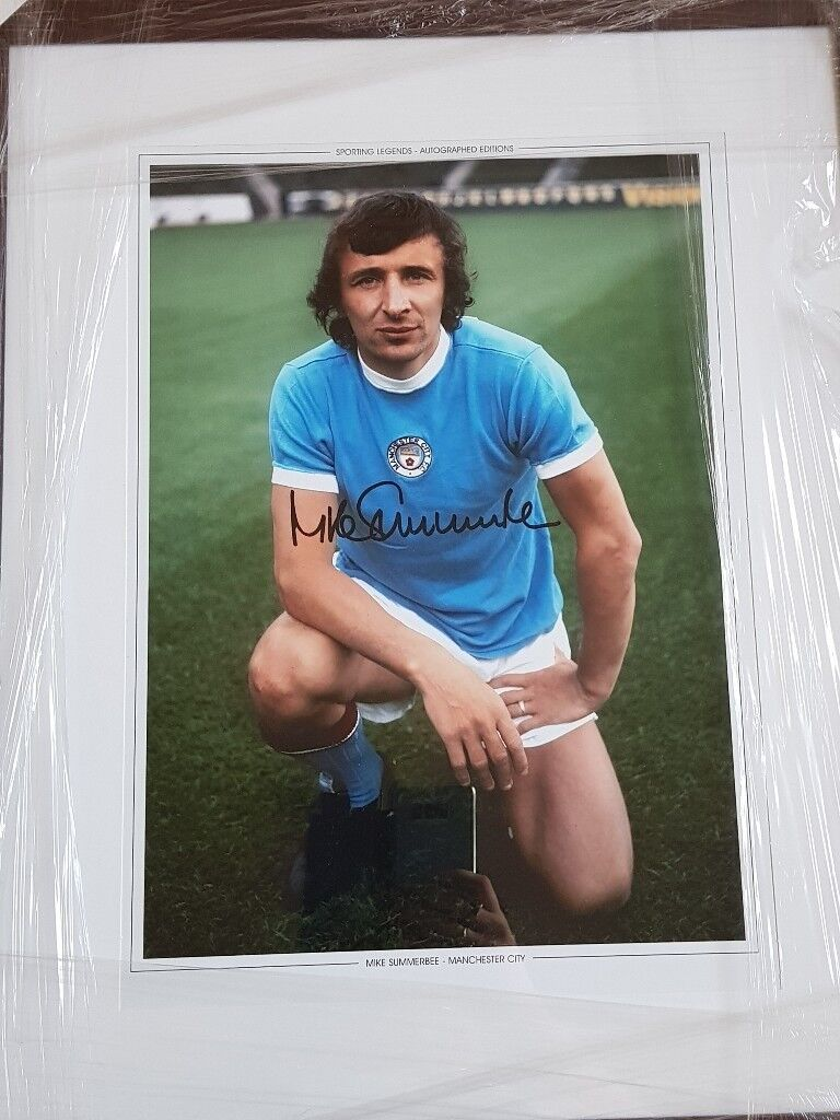Signed mike summerbee photo