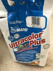 Tile Grout in colour Silver Grey Ultracolor Plus