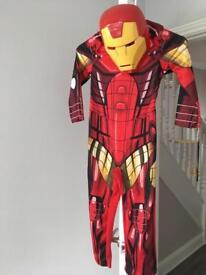 Iron man dress up 5-6yrs