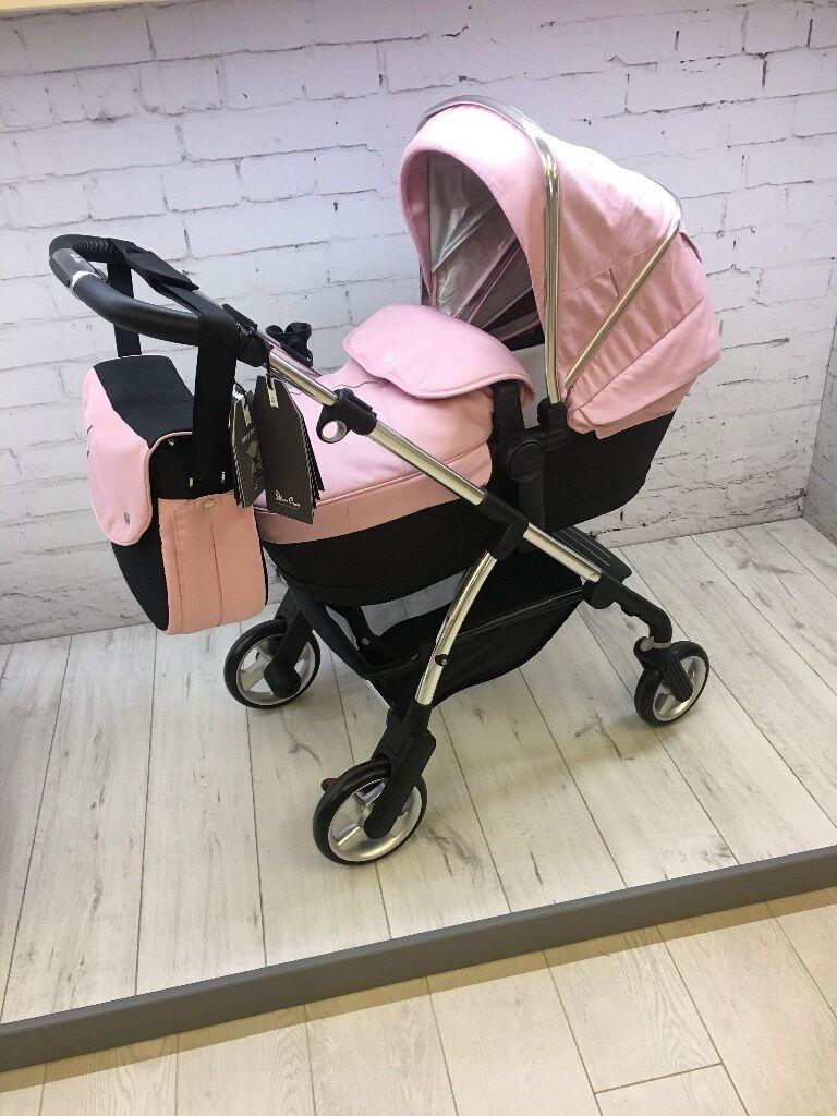 Silver Cross Wayfarer Vintage Pink Pram Pushchair In