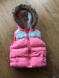 Girls gillet age 2-3 years