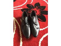 Brand new men's black smart shoes in size 9