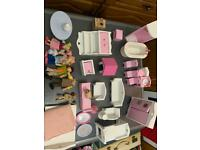 Early learning dolls furniture 32 pieces