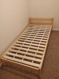 Brand New single bed and mattress.