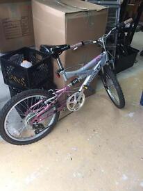 Girls Reebok Bike