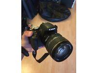 Canon 500D DSLR with Canon EFS 17-85 USM Lense