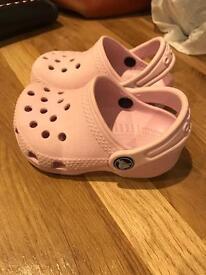 12-18 months & 2-3 size crocs