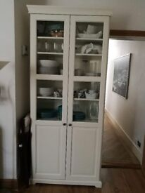 White bookcase from IKEA
