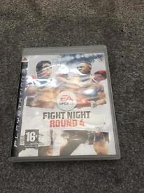 PlayStation 3 fight night round 4 game