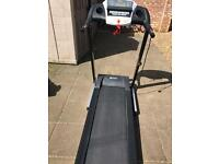 Dynamix motorised treadmill with automatic incline