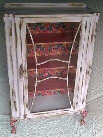Vintage display/storage cabinet.