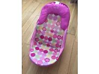 Baby Bath seat pink as new