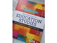 Brans New Book on The Introduction to Education Studies
